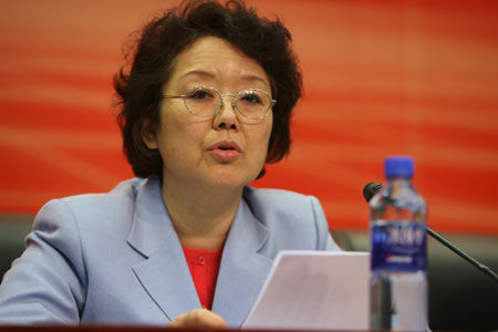 Yu Li, former director of the Synchronized Swimming Department under the General Administration of Sport of China, was taken away by the central anti-corruption organization for investigation of bribery cases on Oct. 30, state-run media reported on Nov. 4, 2014. (Screenshot/Sina.com.cn)