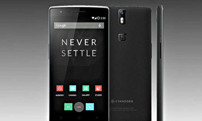 OnePlus-One smartphone (Courtesy of OnePlus)