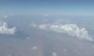 Airline Passenger Records UFO (Video)