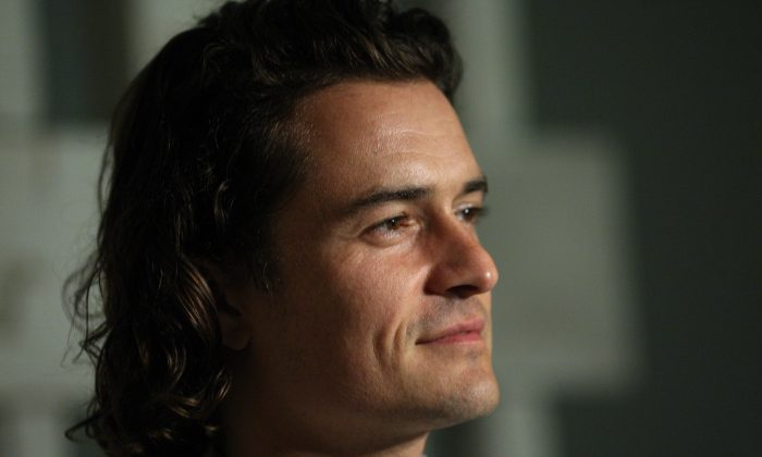 Orlando Bloom in a stock photo. (AFP/Getty Images)