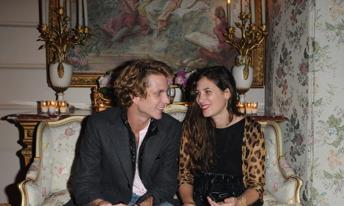 Andrea Casiraghi and Tatiana Santo in a file photo. (AFP/Getty Images)