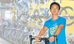 Sharing the Achievements of the MIT Stem Shock Absorber With the World Taiwan Heralded as the 'Bicycle Kingdom' by Canadian Press