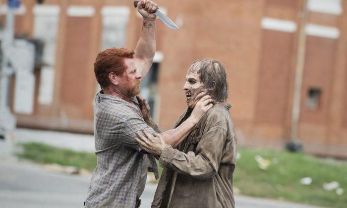 Abraham Ford (Michael Cudlitz) in The Walking Dead season 5, episode 5. (Gene Page/AMC)