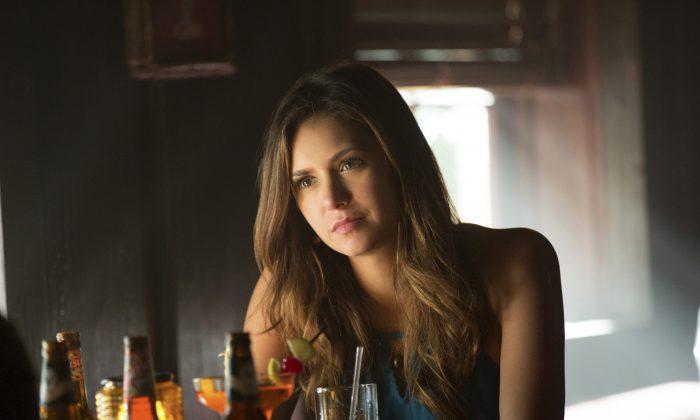 """Nina Dobrev portrays Elena Gilbert in a scene from """"The Vampire Diaries."""" (The CW)"""