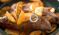 Steak is Great Baked With Apples