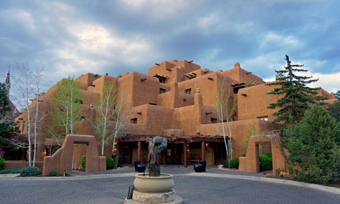 The Inn and Spa at Loretto is located near the Palace of the Governors and the historic Santa Fe Plaza in the heart of the city. (Richard C. Murray/RCM IMAGES, INC)