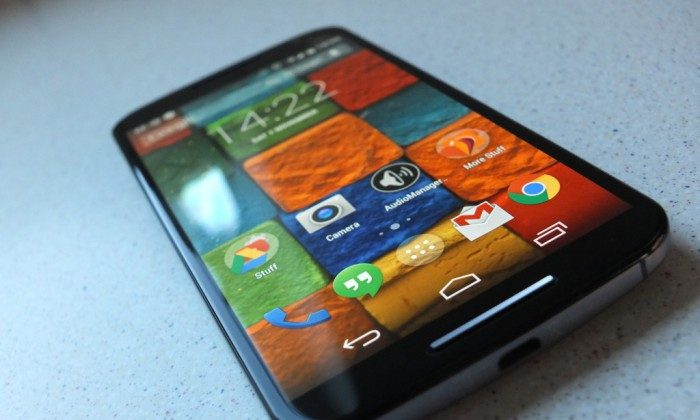 Motorola Moto X 2014 (James Pearce/coolsmartphone)