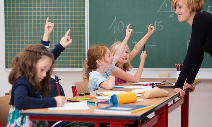 A stock photo of a classroom (Shutterstock*)