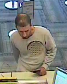 A suspect in a bank robbery in Williamsburg, Brooklyn, New York, on Nov. 12, 2014. (Photo: NYPD)