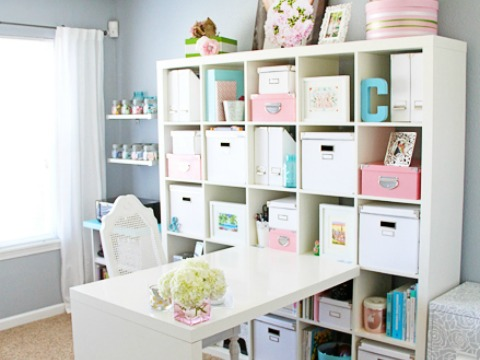 Office Craft Room Makeover (Hometalker Chelsea @Two Twenty One)