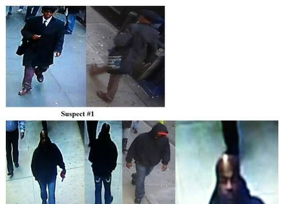 Supects in Diamon District heist. (Photo: NYPD)