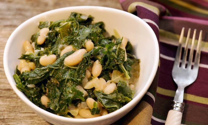 Beans and greens make for a healthy meal. Cat Rooney/Epoch Times