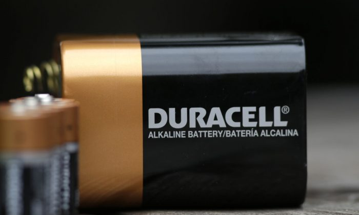 Duracell batteries in Richardson, Texas, on Nov. 13, 2014. Warren Buffett's Berkshire Hathaway Inc. is buying the Duracell battery business from Procter & Gamble Co. in a deal valued at approximately $3 billion. (AP Photo/LM Otero)