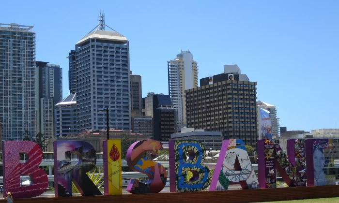 Brisbane's South Bank area         on Nov. 9, 2014. World economic leaders will travel to Brisbane for the G20 Leadership Summit Nov. 15-16. (Epoch Times)