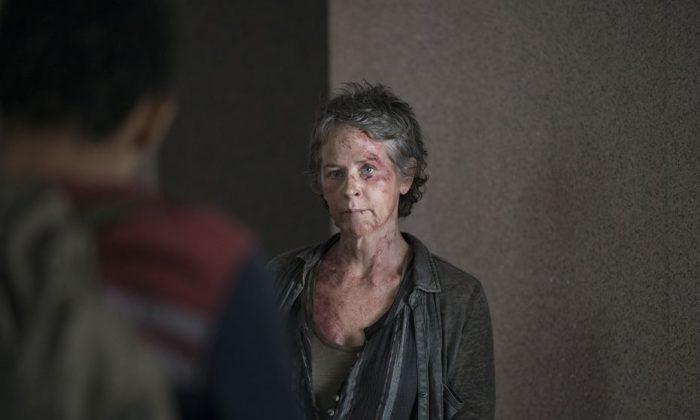 Carol in The Walking Dead season 5, episode 6. (AMC)
