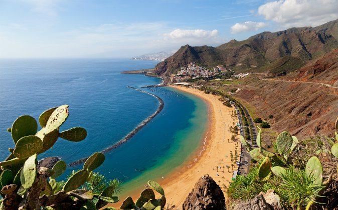 Las Teresitas Beach via Shutterstock*