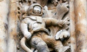 Ancient Aliens? Mysteries of the Salamanca Cathedral Astronaut Carving Revealed