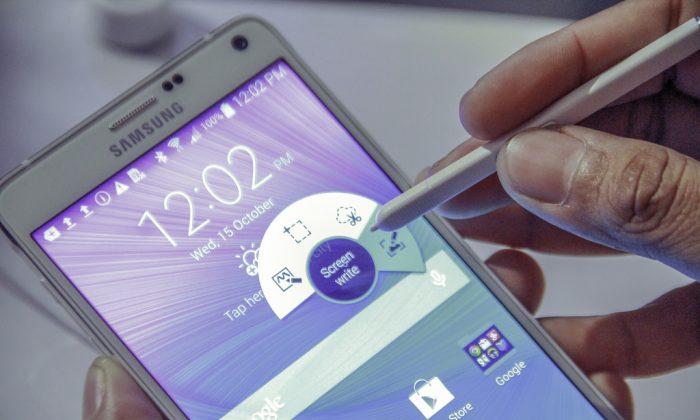 Samsung Galaxy Note 4 (Sham Hardy via Compfight cc*)