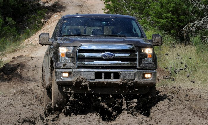 2015 Ford F-150 (Courtesy of Ford Motor Company)