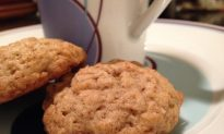 Thyme-infused Cardamom-Orange Oatmeal Cookies