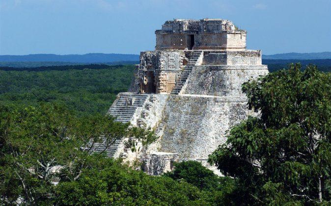 Antique mayan ruins via Shutterstock*