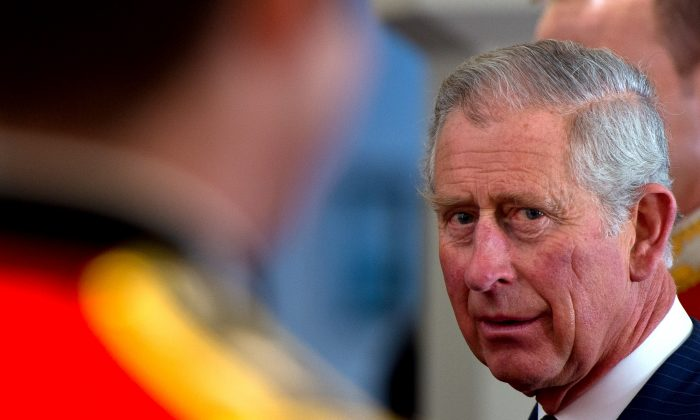 Prince Charles, Prince of Wales attends the Welsh Guards regimental remembrance Sunday lunch on November 9, 2014 in London, England. (Photo by Ben A. Pruchnie - WPA Pool /Getty Images)