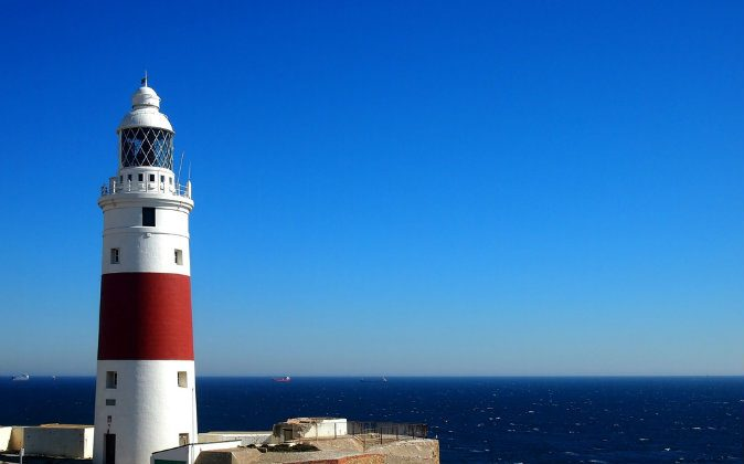 Trinity Lighthouse at Europa Point via Shutterstock*