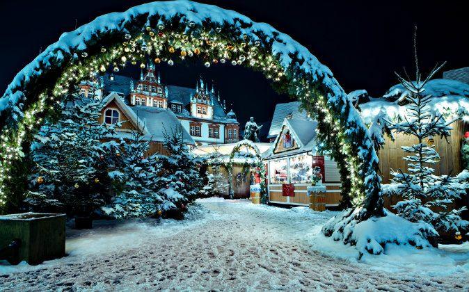 Christmas market via Shutterstock*