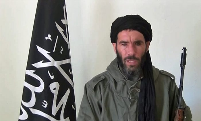 The Algerian Signed-in-Blood Battalion militant Mokhtar Belmokhtar on Jan. 17, 2013. (Belmokhtar Brigade)