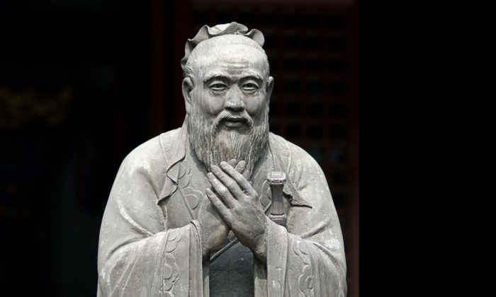 A statue of Confucius at Wen Miao, the Confucian temple in Shanghai. (Sebastiaan de Stigter/iStock/Thinkstock.com)