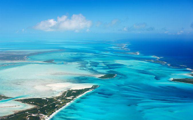 Bahamas islands from above via Shutterstock*