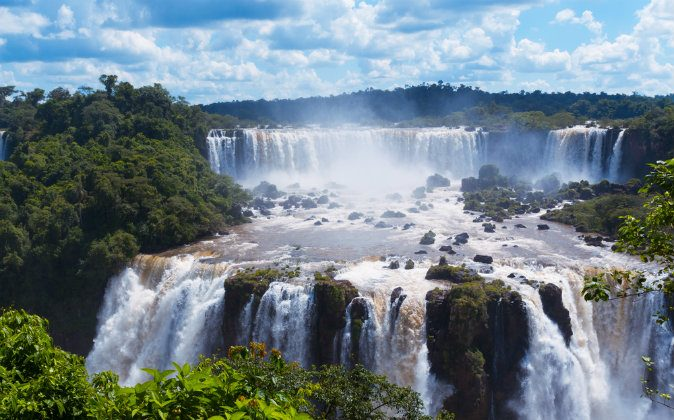 Iguassu Falls via Shutterstock*