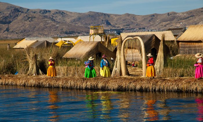 One of the islands on Titicaca lake (Shutterstock*)