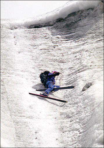 Dmitry Shchitov on Belukha Mountain. (Courtesty of Dmitry Shchitov)
