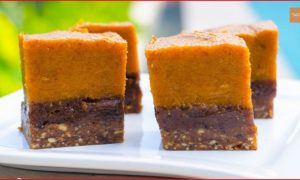 Raw Pumpkin Pie Brownies – Simple To Make