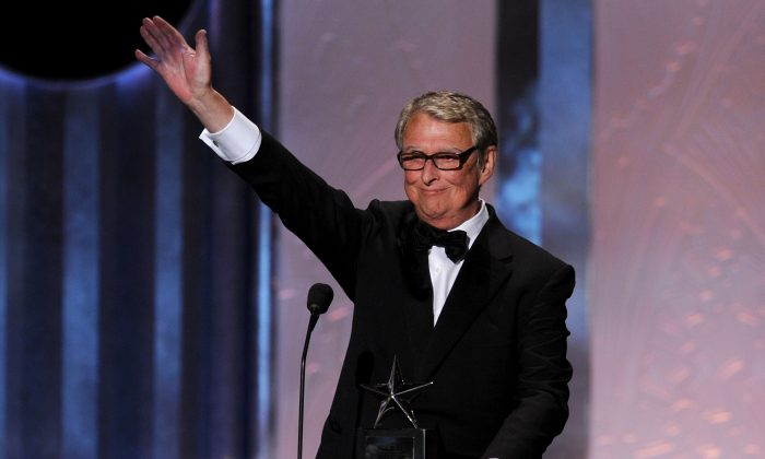 Honoree Mike Nichols speaks onstage during the 38th AFI Life Achievement Award honoring Mike Nichols held at Sony Pictures Studios on June 10, 2010, in Culver City, California. (Kevin Winter/Getty Images for AFI)