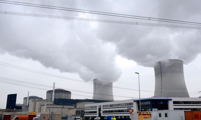 The Cattenom nuclear power plant in eastern France on Dec. 4, 2013. (Jean-Christophe Verhaegen/AFP/Getty Images)