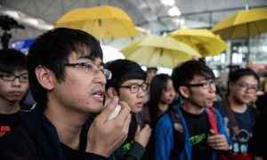 Chinese Authorities Put 500 Hong Kong Students on Travel Blacklist