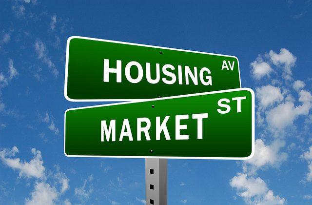 Housing Market Street Sign