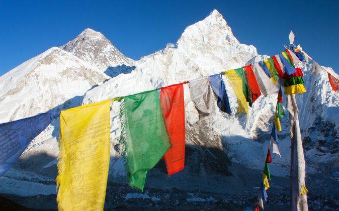 Mount Everest via Shutterstock*
