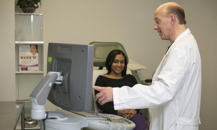 Dr. John Anastasi in his office, Nov. 8. (Samira Bouaou/Epoch Times)