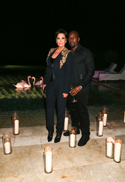 Kris Jenner and Corey Gamble (Photo by Rochelle Brodin/Getty Images for CultCollectiveEvents.com)
