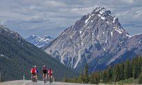 Biking the Highest Public Road in Canada