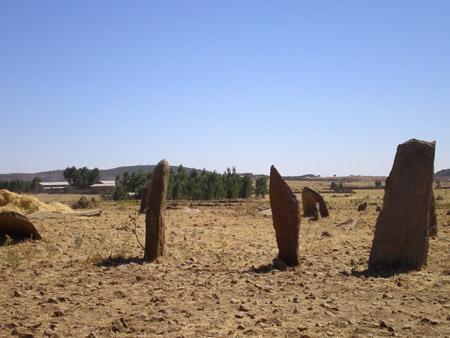 Gudit Stelae Field, Axum, Ethiopia. Named after Queen Gudit (Wikimedia Commons)