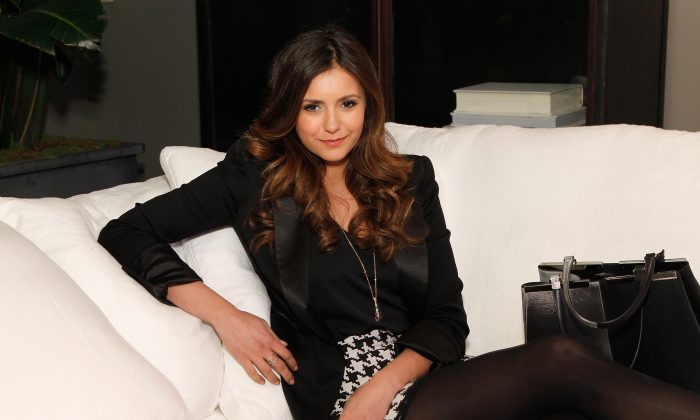 Actress Nina Dobrev attends the RH Atlanta: The Gallery at the Estate in Buckhead opening celebration on November 20, 2014 in Atlanta, Georgia. (Photo by Ben Rose/Getty Images for Restoration Hardware)