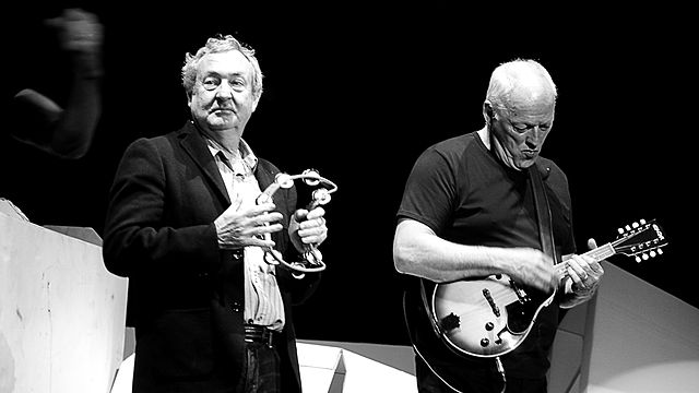 Drummer Nick Mason and guitarist David Gilmour dug into recording sessions from 1994's The Division Bell to mine material for their professed last album: The Endless River (anyonlinyr/Flickr, CC BY-SA)