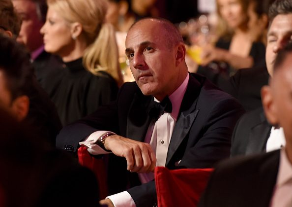 Matt Lauer attends the Elton John AIDS Foundation's 13th Annual An Enduring Vision Benefit at Cipriani Wall Street on October 28, 2014 in New York City. (Photo by Larry Busacca/Getty Images)