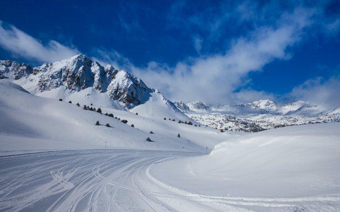 Ski slope in Andorra via Shutterstock*