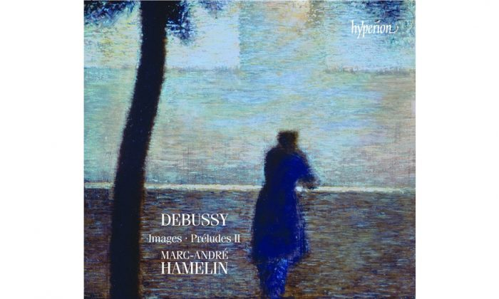 The cover of the album 'Debussy Images & Préludes II,' by Marc-André Hamelin. (Hyperion)