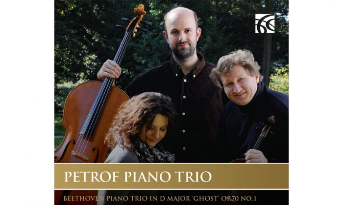 The cover of the album 'Beethoven, Tchaikovsky and Mendelssohn,' by Petrof Piano Trio. (Nimbus)